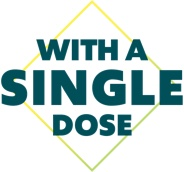 with a single dose